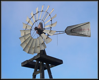 Example of a Water Windmill